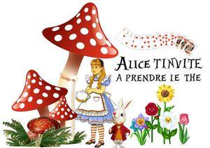 Un anniversaire &quot&#x3B;Alice aux pays des merveilles