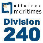 Réglementation navigation de plaisance  division 240
