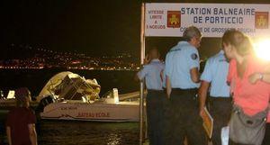 Porticcio L'explosion d'un semi-rigide fait deux blessés graves