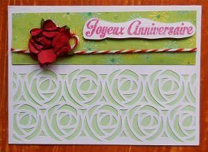 Cartes d'anniversaire reçues ( 4 )