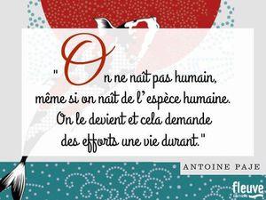 Et elle me parla d'un érable, du sourire de l'eau et de l'éternité d'Antoine Paje
