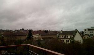 Plutôt tristounette.. la photo météo du jour..