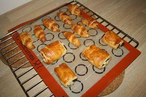 La pâte feuilletée levée