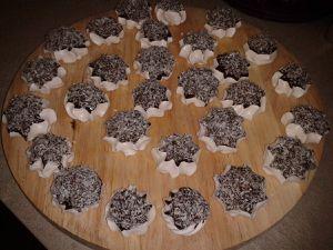 meringues chocolat coco