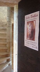 Château de Bonaguil : mon exposition personnelle