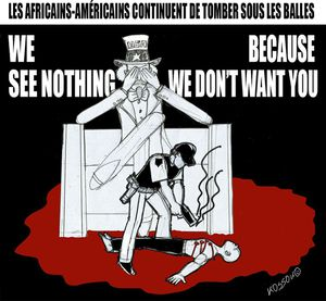 Etats-Unis: We see nothing because we don't want you !