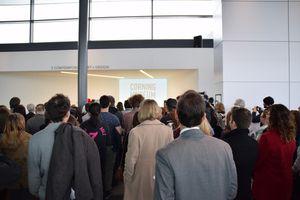 Grand opening au musée du verre