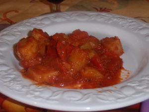 Poelée de pommes de terre à la provençale
