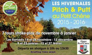 &quot&#x3B;Hivernales du Pitch &amp&#x3B; Putt&quot&#x3B; samedi prochain...