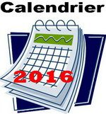 Modifications du calendrier...