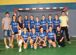Hand-ball féminin Civraisien en excellentce régionale