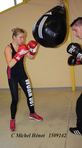 L'entrainement boxe, c'est reparti ....