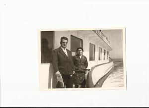 L. Roque et son épouse