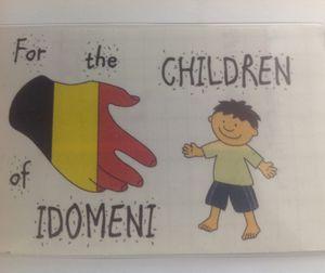 Pour les enfants d'Idomeni :  un convoi humanitaire a démarré de Rixensart