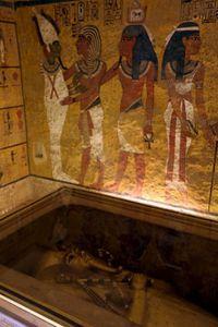 La scoperta camera segreta  di Tutankhamon