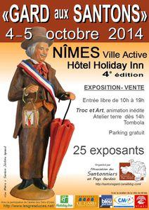 Gard aux Santons à Nimes les 4 et 5 octobre