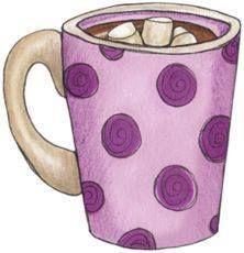 .. Hiver .. &quot&#x3B; Tasse chocolat chaud , activité et chanson &quot&#x3B;