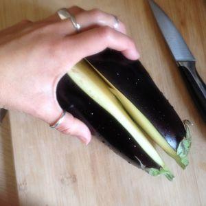 Apéro time !! Caviar d'aubergines ...