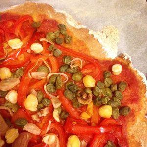 Apéro time - Pizza aux légumes !