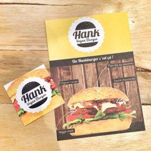 Hank - Burgers végétaliens dans le Marais