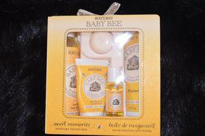 Le meilleur pour nos bébés avec Burt's Bees
