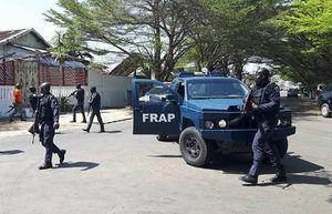 Photo Reuters: la FRAP en action à Bassam