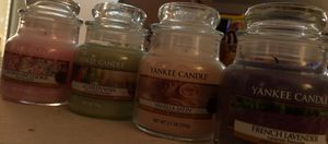 Ma collections de yankee candle