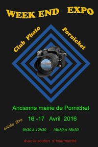 PORNICHET : EXPOSITION du CLUB PHOTO 16 et 17 avril