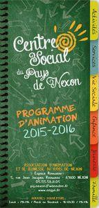 Programme d'animation AAJPN 2015-2016