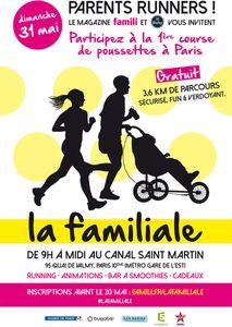 La 1ère course de poussettes à Paris