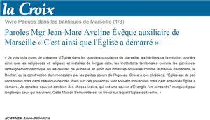 Paroles Mgr Jean-Marc Aveline, Évêque auxiliaire de Marseille