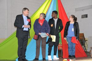 50 ans de la MISSION OUVRIERE en Seine Saint-Denis à SEVRAN le 9 avril 2016