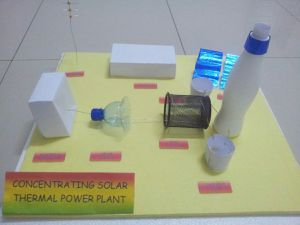 Model of Concentrating Solar Thermal Power Plant
