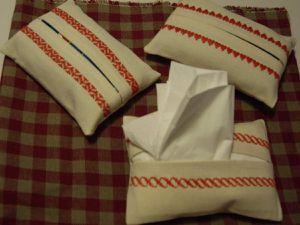 Pochettes à mouchoirs
