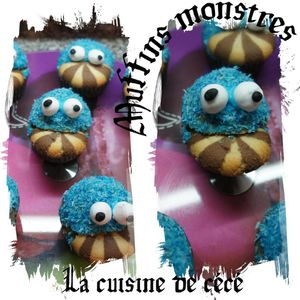 Muffins Monstres