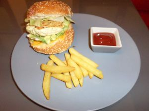 Cheeseburger dinde original