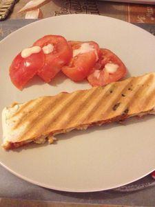 Croque-pizza