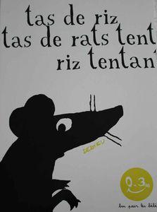 Thierry Dedieu, Tas de riz, tas de rats.
