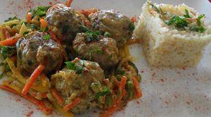 Boulettes de viande au curry