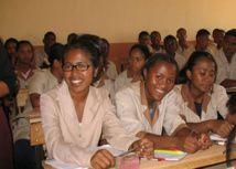 263.000 lycéens étudient au cycle secondaire, alors que plus de 4 millions d'écoliers sont recensés