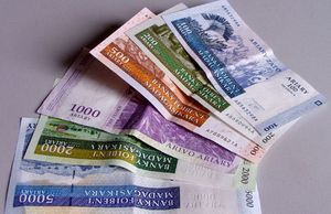 L'ariary regagne du terrain face à l'euro et au dollar