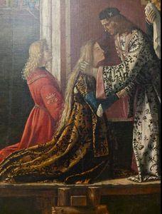 La légende de Sainte Ursule - Vittore Carpaccio (1465-1526)