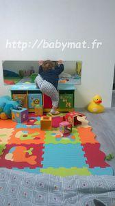 11 mois : 1,2,3 bébé a fait un pas