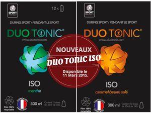 Duo Tonic Iso Menthe Duo Tonic Iso Caramel salé
