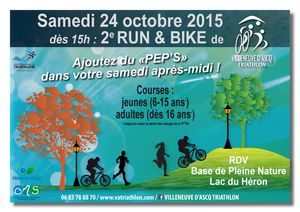 Tripp Sport au RUN AND BIKE du VA TRI !!!