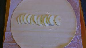 filet mignon en croûte pomme et miel, purée et ses trois couleurs