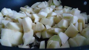 Parmentier de canard aux pommes