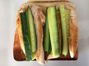 Sandwich club au poulet