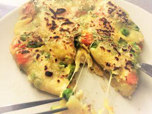 Pains farcis aux légumes façon Paratha indien