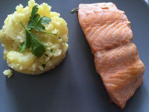 Pavé de saumon au sirop d'érable